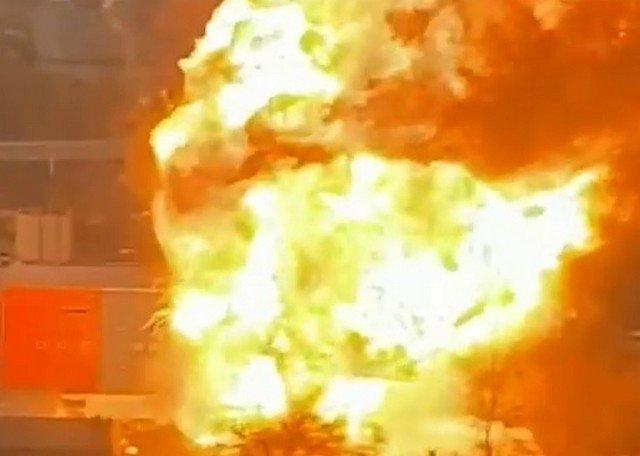 взрыв газа в москве на улице газопровод