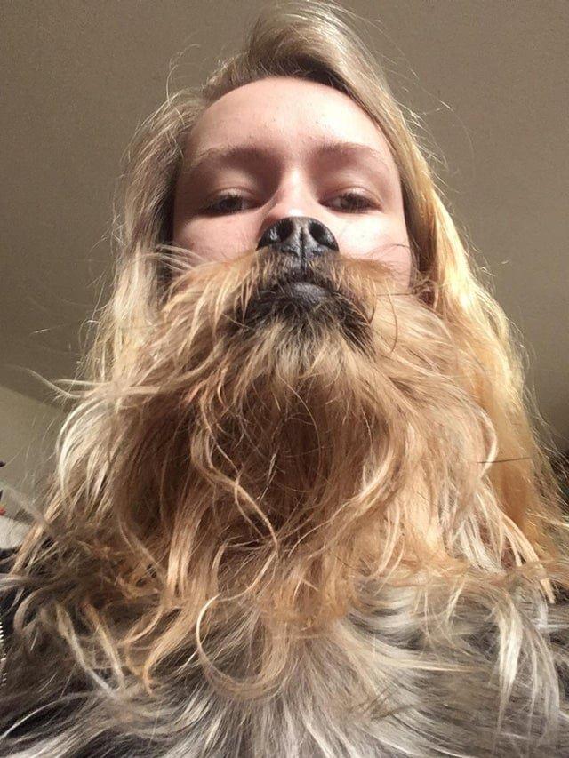 У меня есть борода и ты скажешь мне да