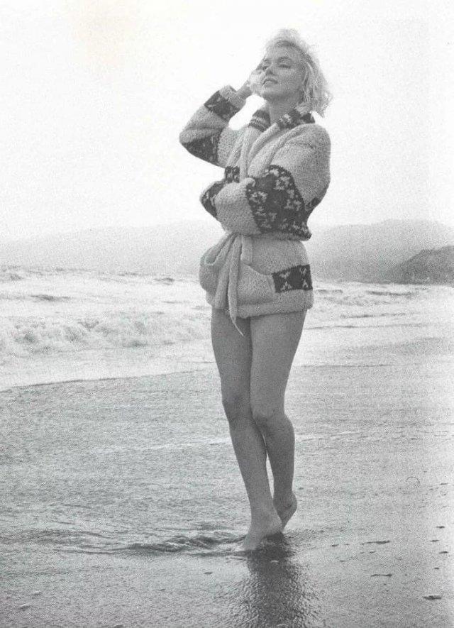Мэрилин Монро, июль 1962 года.