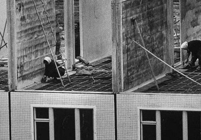 Хрущевки, начало, 1963 год.
