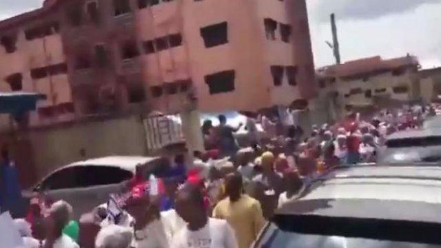 Дональд Трамп показал, как его поддерживают в Нигерии