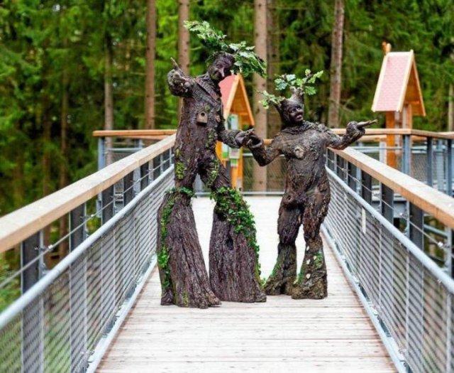 Косплей деревья