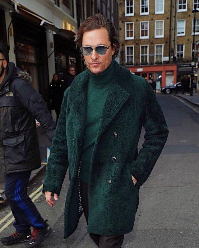 Мэттью МакКонахи в одежде casual