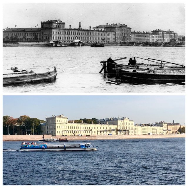 Военно-медицинская академия.~1910 и 2020 год.