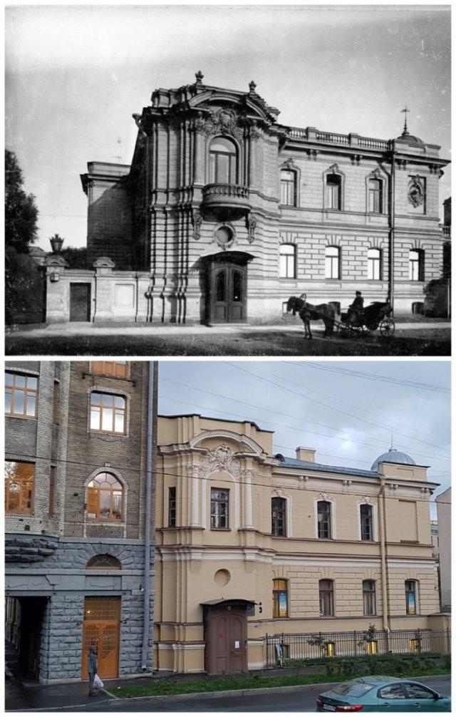 Особняк Ф.Г. Козлянинова(ул. Писарева, 12)~1899 и 2020