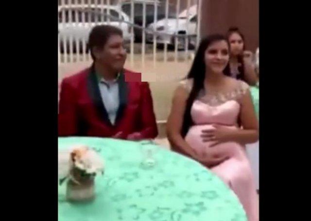 Жених уличил невесту в измене прямо на свадьбе, принеся доказательства