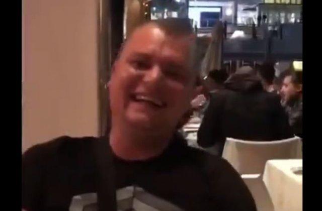 Из-за таких людей русских недолюбливают за границей - ругается нецензурной бранью на весь ресторан
