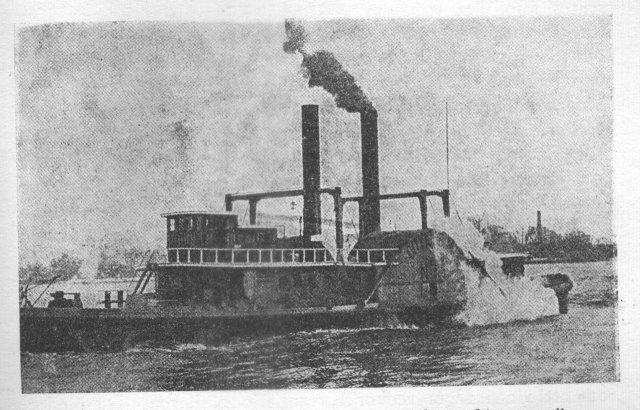 Первый ледокол придумали в США в 1837 год.