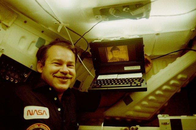 Первый ноутбук в истории. Grid Compass. 1982 год