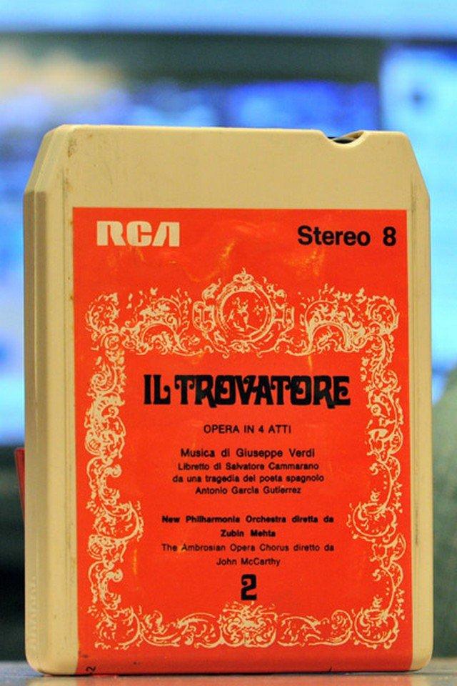 Формат кассет Stereo 8. 1964 год.