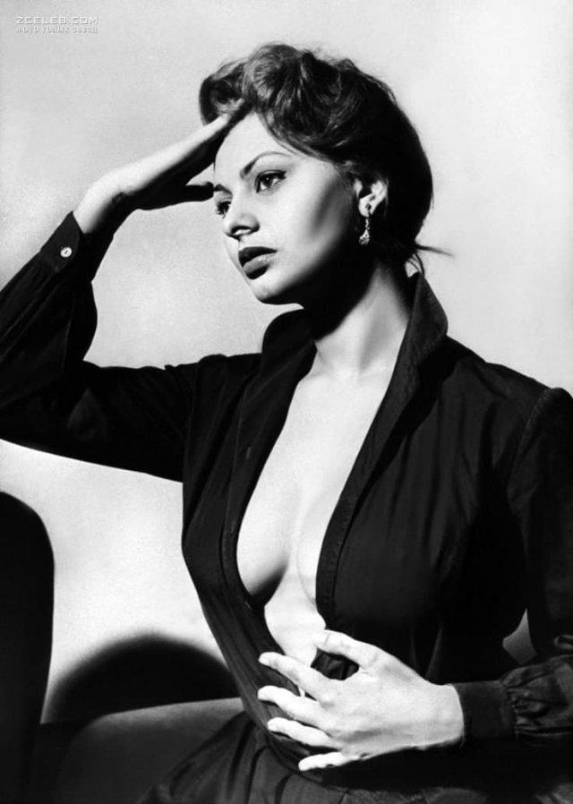 Безупречная Софи Лорен, 1950 г.