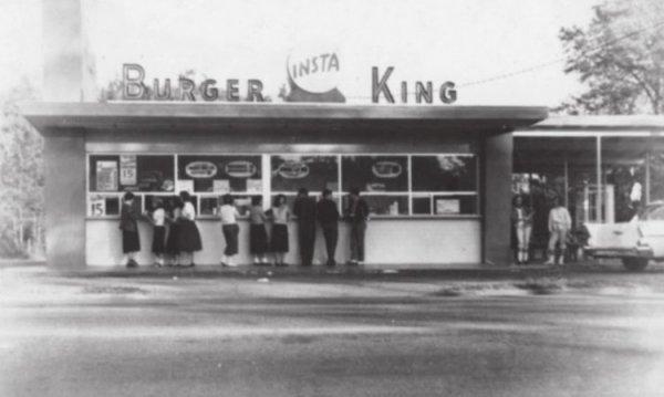 Первый Burger-King в Джексонвилле, штат Флорида, 1953 год