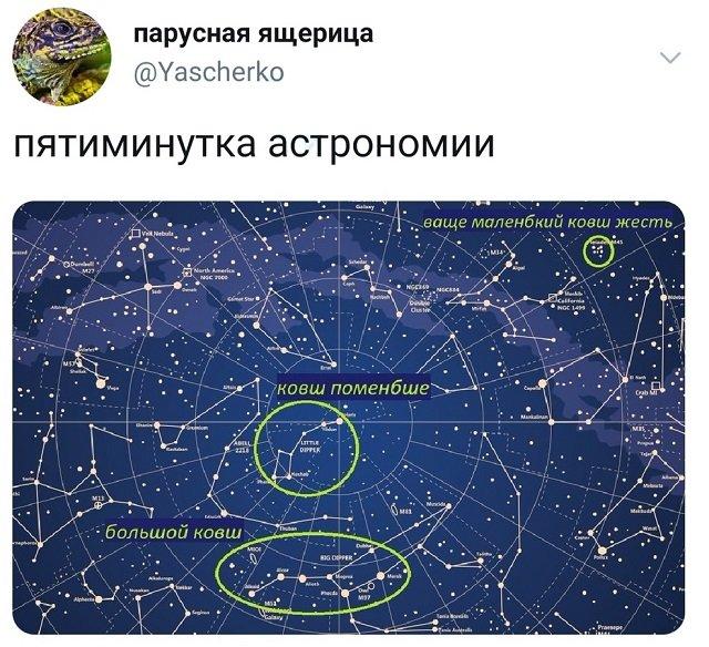 твит про астрономию