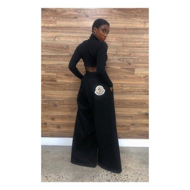 Актриса Лашана Линч - новый агент 007 в черном платье