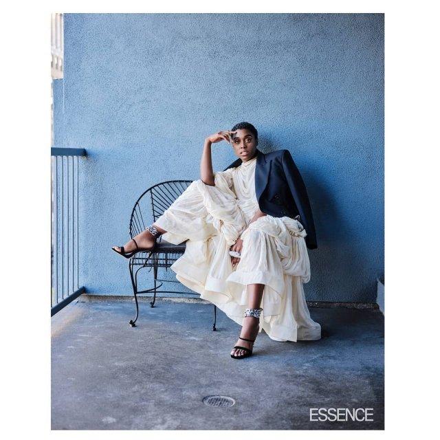 Актриса Лашана Линч - новый агент 007 в белом платье