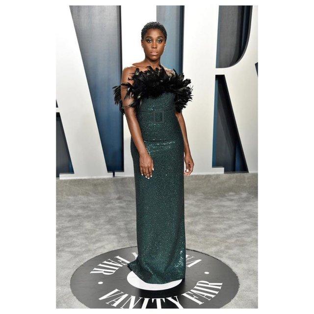 Актриса Лашана Линч - новый агент 007 в зеленом платье
