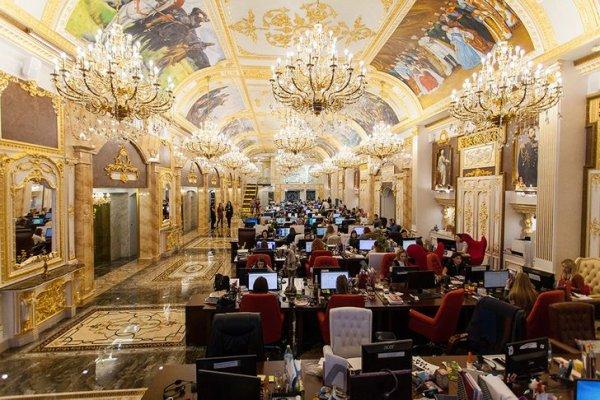 Это офис или дворец?