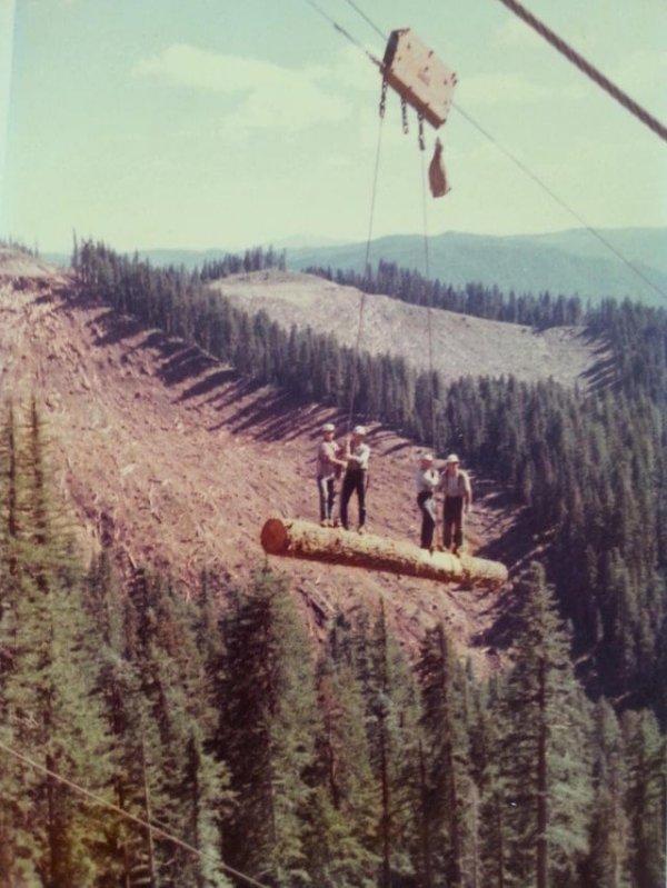 Крутые орегонские работяги, США, 1973 год.