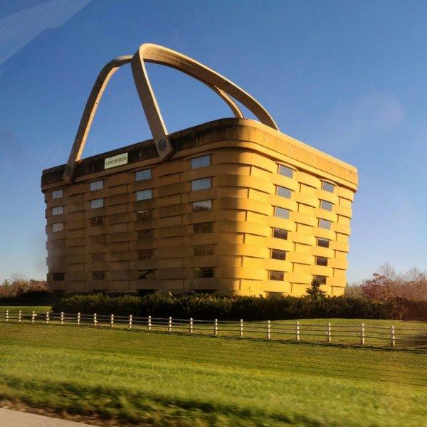 Офис компании Longaberger, Огайо, США