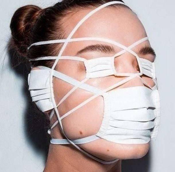 Дизайнерская маска