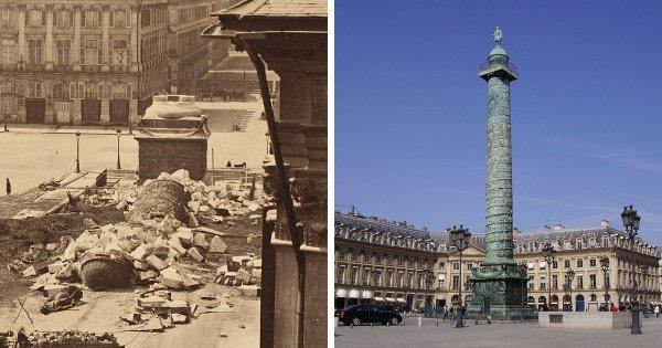 Вандомская колонна, Париж