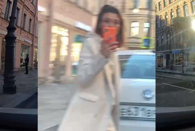 Блогер Евгения Кривцова устроила скандал из-за того, что ей не досталось места на парковке