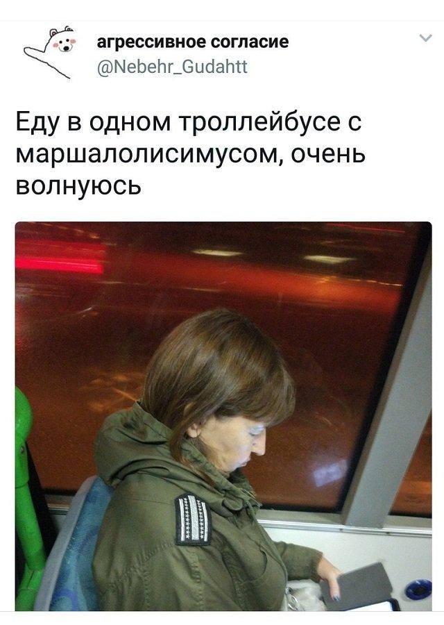 твит про троллейбус