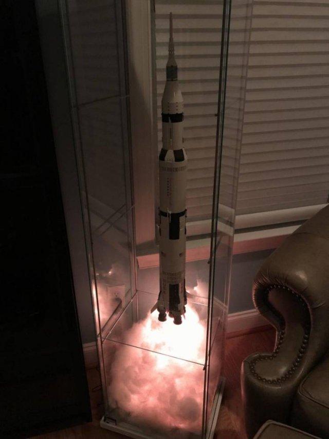 Диорама ракета