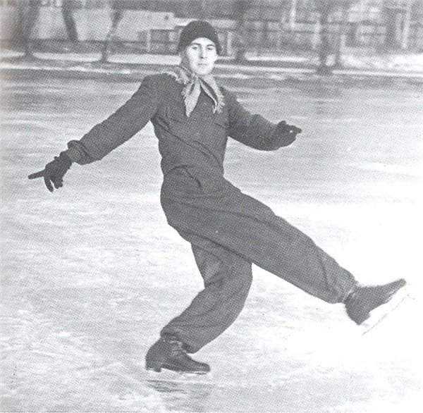 Тренер по фигурному катанию Игорь Москвин, 1949 год, СССР