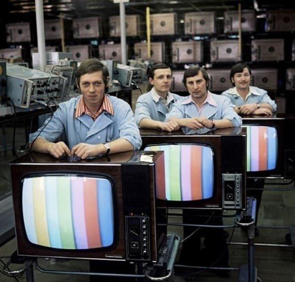 Завод цветных телевизоров, 1970–е годы, СССР