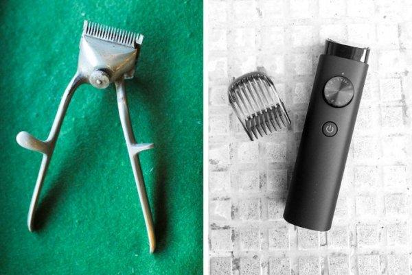 Машинки для стрижки волос — старинная и современная