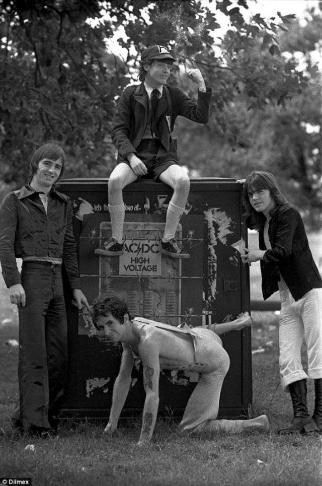 Группа AC/DC, 1975 год, Австралия
