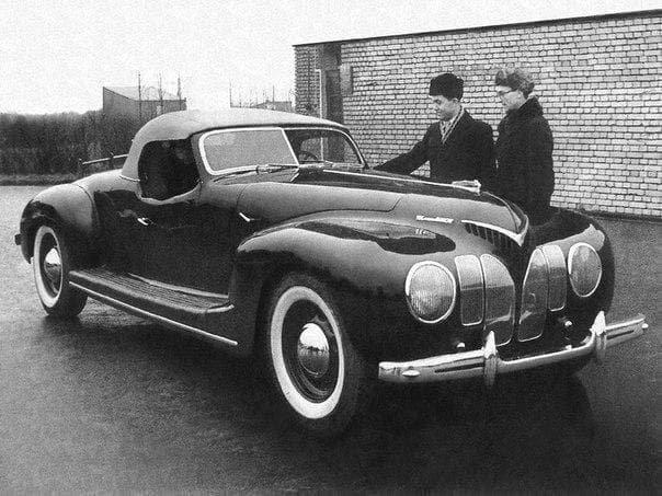 ЗИС-101-«Спорт» 1939 года.