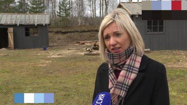 В Карелии для школьников построили копию концлагеря для малолетних узников
