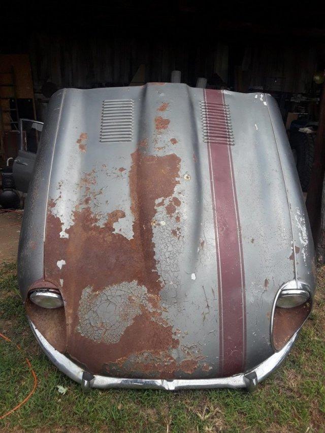 Как выглядит Jaguar E-type 1969 года, простоявший более 30 лет