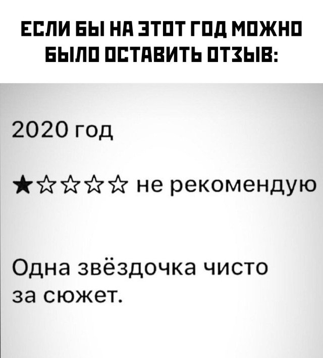 Оценка для 2020 года