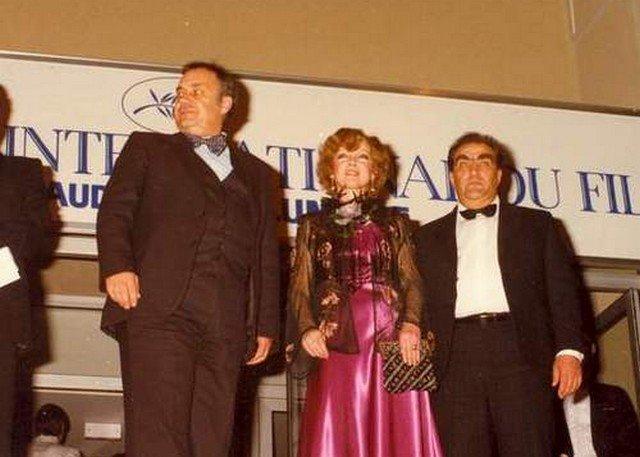 Эльдар Рязанов и Людмила Гурченко на Каннском кинофестивале, май 1983 года, Канны