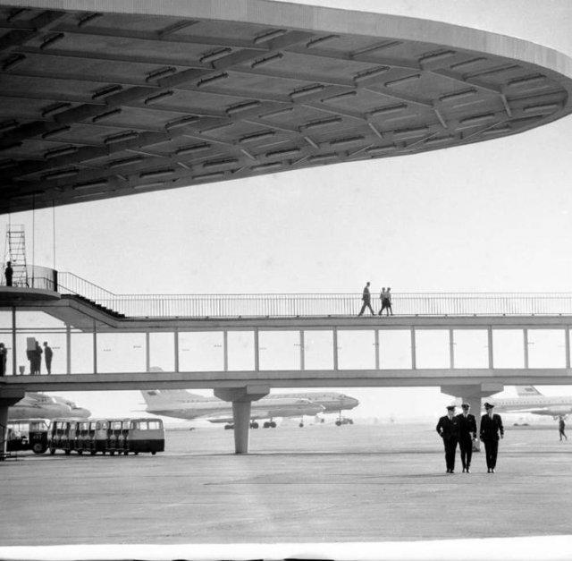 Переход в аэропорту Шереметьево, 1972 год, Московская область