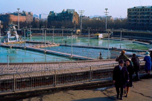 Бассейн «Mосĸвa», 1976 год, Москва