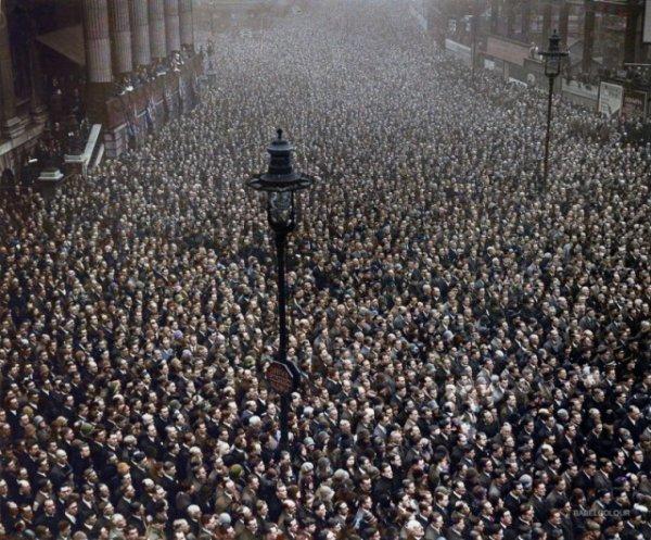 Минута молчания в память о погибших в Первой мировой войне