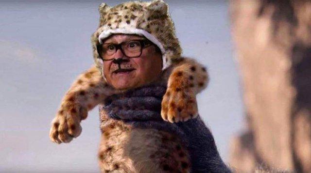 Дэнни ДеВито - герой Короля Льва