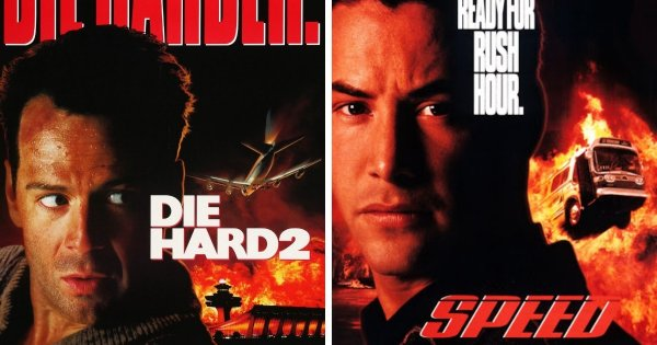 Крепкий орешек 2 (1990) и Скорость (1994)