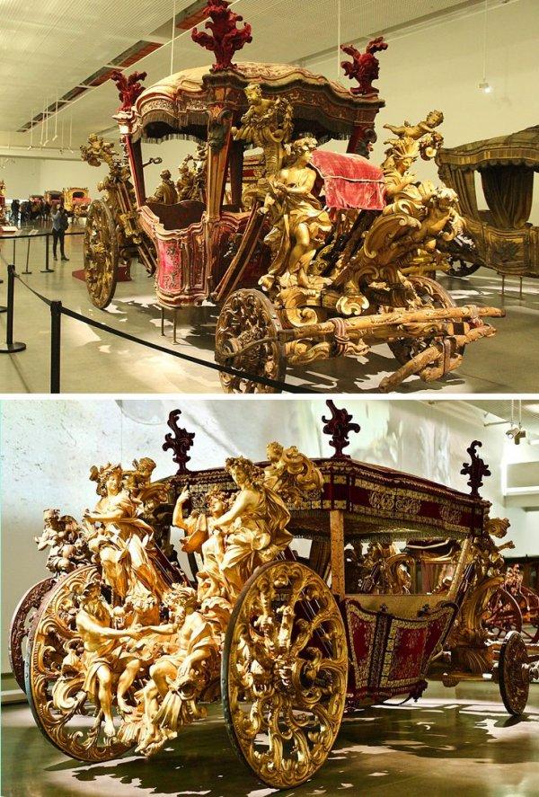Украшенная карета папы Климента XI