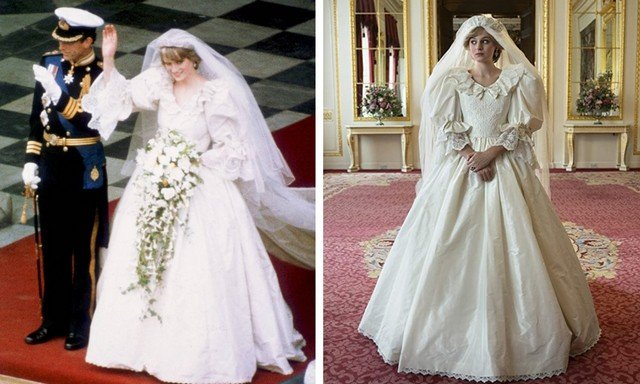 Знаменитая свадьба Леди Дианы и принца Чарльза