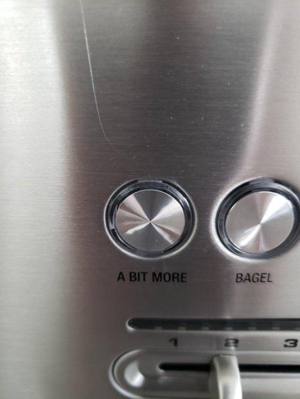"""Кнопка на тостере: """"Поджарить еще чуть-чуть"""""""