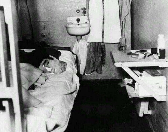 Манекен головы, который использовал Джон Англин для побега из тюрьмы Алькатрас, США, 1962г.
