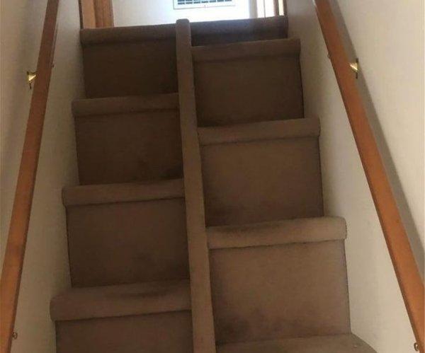 Эта лестница заставляет задуматься
