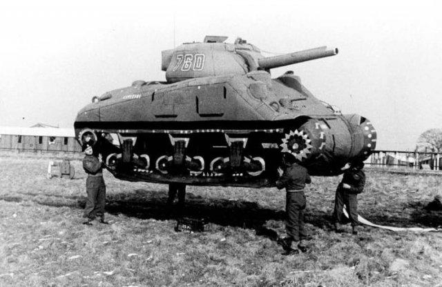Муляж танка