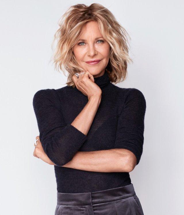 Мег Райан в черном свитере