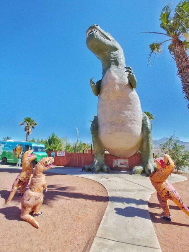 Динозавры в наши дни